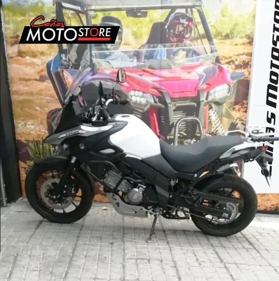 Suzuki Vstrom Dl 650 Blanca 2018