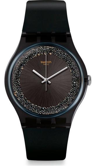 Relógio Swatch Feminino Darksparkles Suob156