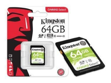 Cartao Memoria Classe 10 Kingston Sds/64gb Sdxc 64gb 80r/10w