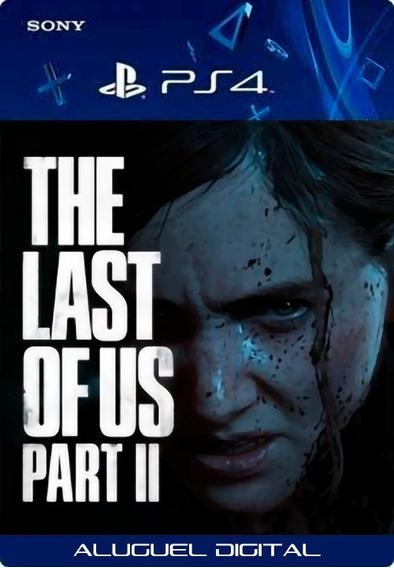 The Last Of Us Part Ii 2 Ps4 Aluguel 7 Dias