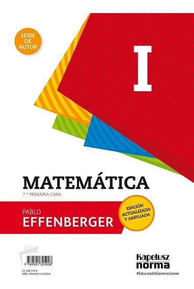 Matemática 1 - De Autor Revisada Y Ampliada - Kapelusz