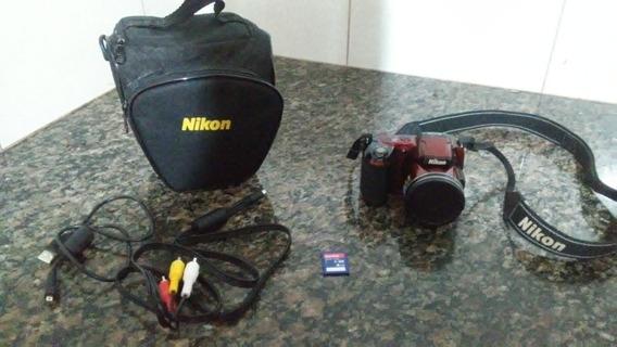 Câmera Nikon L810 Semi-novo Em Ótimo Estado