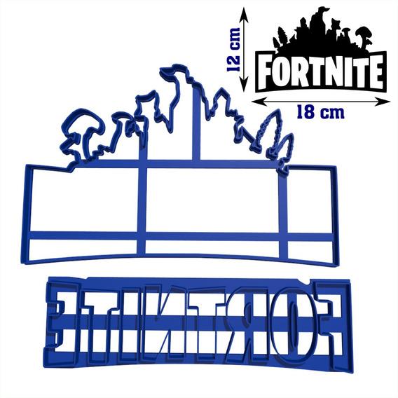 [solo Envio] Cortante Fortnite Royale Torta 18cm Fondant