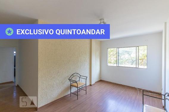 Apartamento No 2º Andar Com 2 Dormitórios E 2 Garagens - Id: 892966738 - 266738