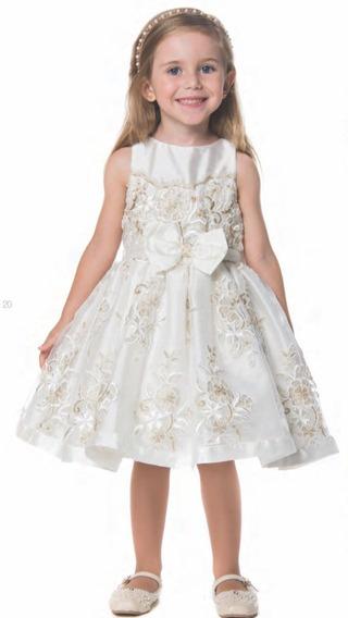 Vestido Petit Cherie Festa Infantil 11.11.31334