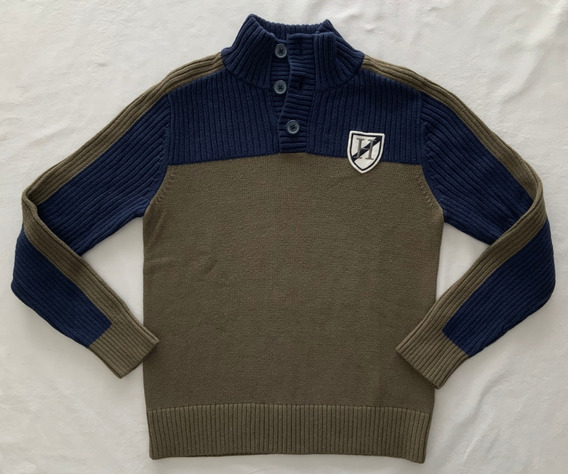 Tommy Hilfiger. Sweater Tejido. Varon. Talle 8/10 Años
