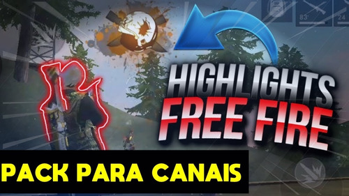 Pack De Png Para Capas De Free Fire Em Canais No Youtube