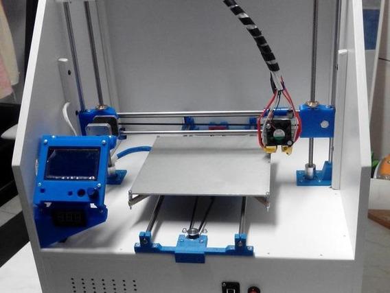 Impressora 3d Cartesiana Kit Completo Peças Plásticas