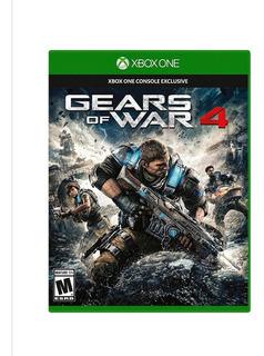 Gears Of War 4 Xbox One Nuevo + 4 Juegos Envió Gratis