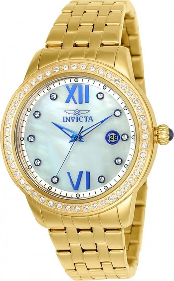 Incrível Relógio Invicta 23662 Angel Novo Original Lindo