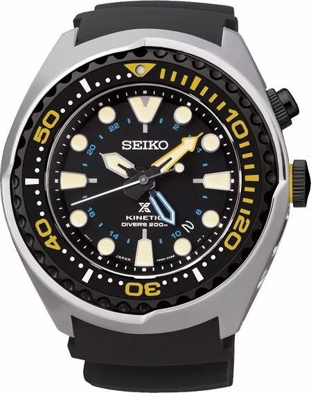 Seiko Diver Prospex Kinetic Gmt 200m Sun021p1 Sun021