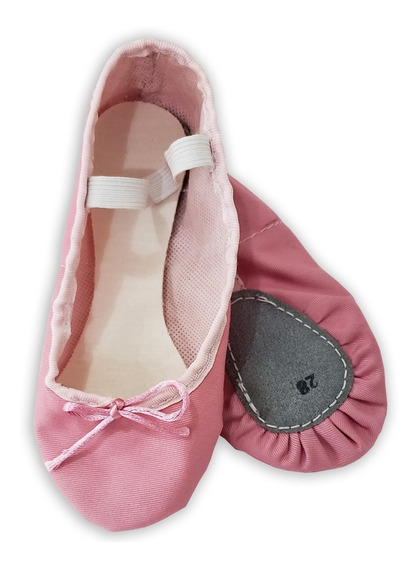 Oferta Zapatillas Media Punta Ballet - Rosada Talla: 24 A 40