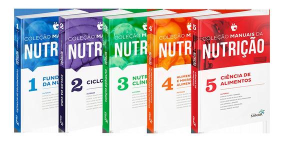Coleção Nutrição Concursos E Residências Livro 1, 2, 3, 4, 5