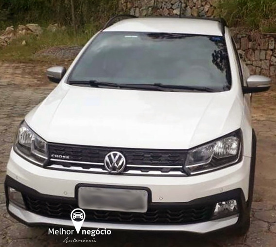 Volkswagen Saveiro Cross 1.6 Cd T. Flex 2017 Branca