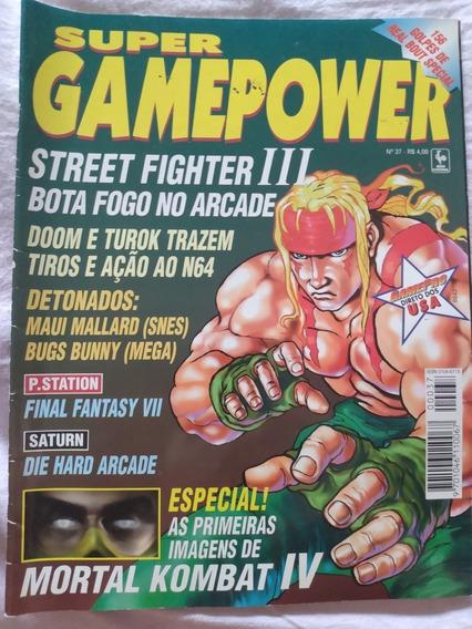 Revista Super Gamepower Nº 37 Doom Turok Mk 4 Street Fighter