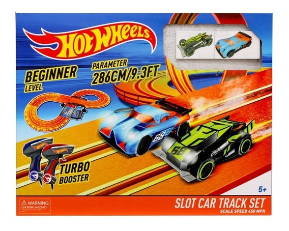 Hot Wheels Pista 2.86cm Pilas 83105 Envio Full