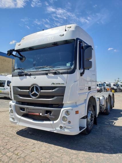 Mercedes-benz Mb 2546 6x2 Actros Ano 2017 / Financiamos