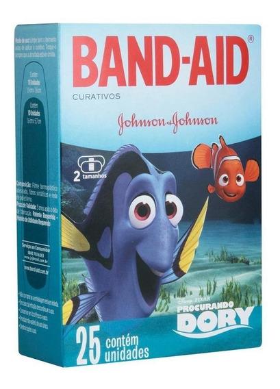 Curativos Band-aid Procurando Dory 25 Unidades