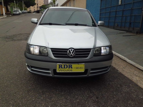 Vw-volkswagen Gol Power 1.6 Mi Prata Gas 4 Porta 2003