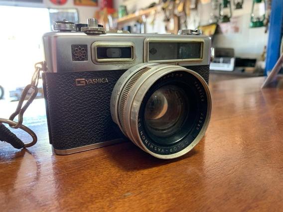 Câmera Fotográfica Yashica Electro 35 Gsn Antiga