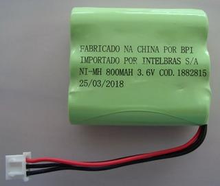 Bateria 1882815 Para Telefone Intelbras 3.6v 800mah Original
