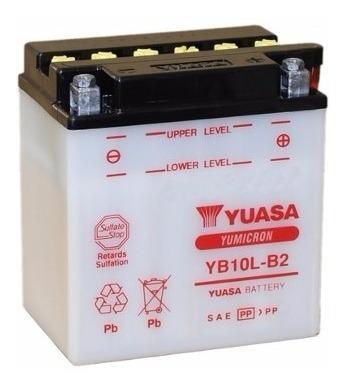 Bateria Yuasa Gsx 600f 2014 2015 2016 Original Yb10lb2