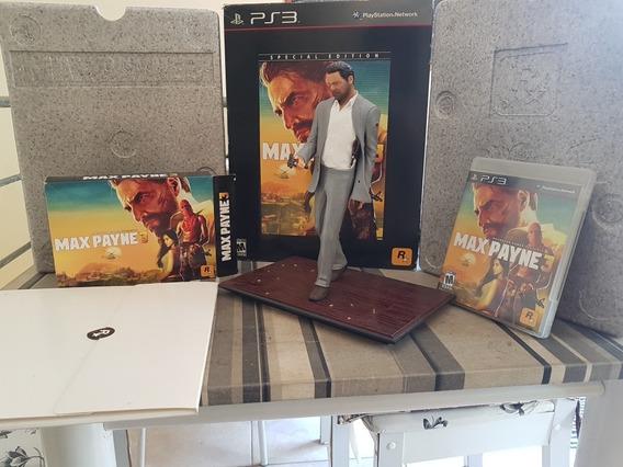 Max Payne 3 Ps3 Edição De Colecionador