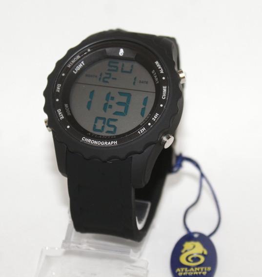 Relógio Masculino Atlantis 7457 Esportivo Prova D Água