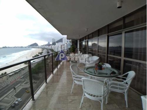 Imagem 1 de 27 de Apartamento À Venda, 4 Quartos, 1 Suíte, 4 Vagas, Copacabana - Rio De Janeiro/rj - 3296