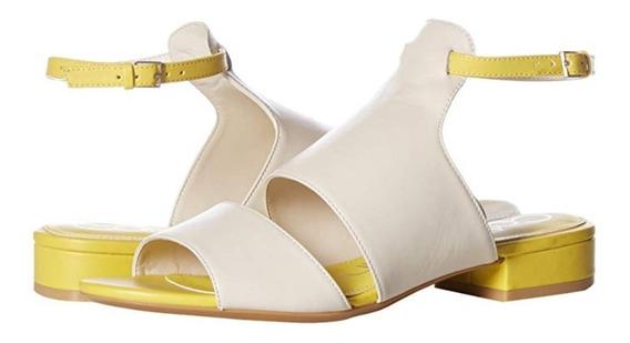Sandalias Para Dama Calvin Klein Talla 25! De Piel! Origina!