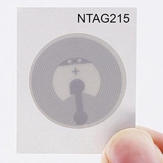 Timeskey Nfc 10pcs Ntag 215 Pegatinas Nfc Nxp Ntag215 Etique