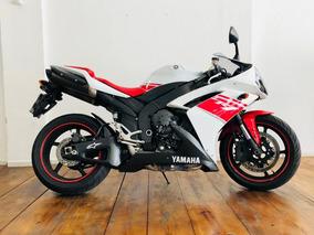 Yamaha Yzf R1 1000 2008 Branca E Vermelha Impecável