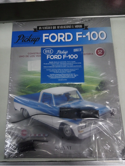 Ford F-100 Pick Up / Para Armar