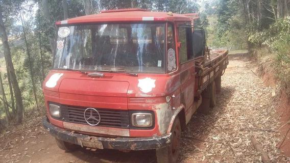 Mercedez 608 Vermelho 1975 Com Ótima Mecânica