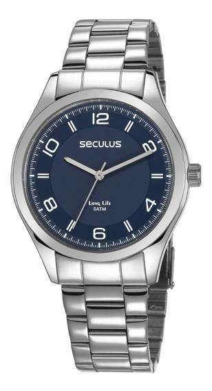 Relógio Masculino Analógico Seculus 28975g0svna2