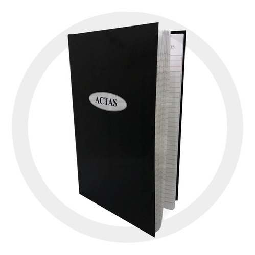 Libro Actas Rayado 200 Folios Paginas Hojas Corona