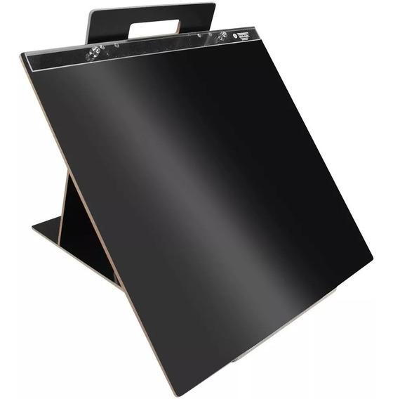Prancheta A3 Portátil Articulada C/ Alça Trident Black