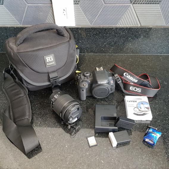 Câmera Canon T6i - Semi Nova