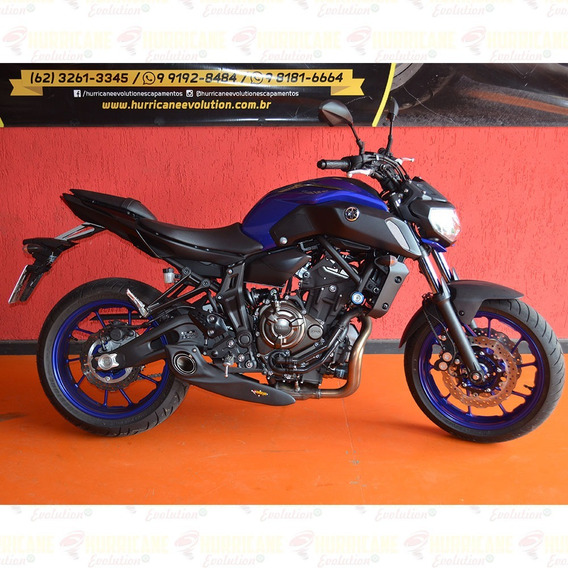 Escapamento Full Taylor Made Mt-07 2x1 Ponteira Mt07 Cod.678