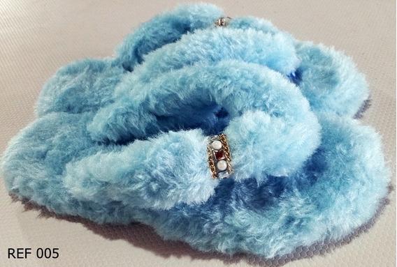 Chinetufa Sandasul Azul Bebê :: Chinelo De Inverno