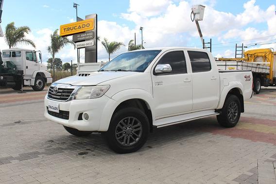 Caminhonete Toyota Hilux Srv 4x4 2013 Cabine Dupla