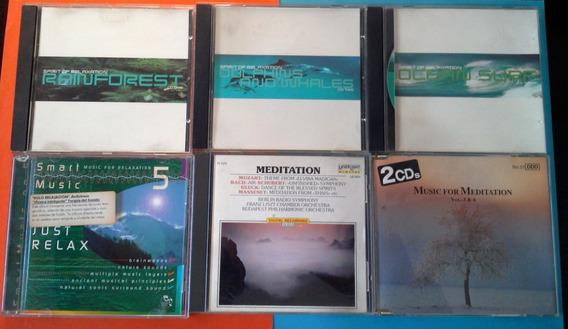 Lote De 7 Cds - Yoga Meditación Relax Tai Chi - Más Regalo !