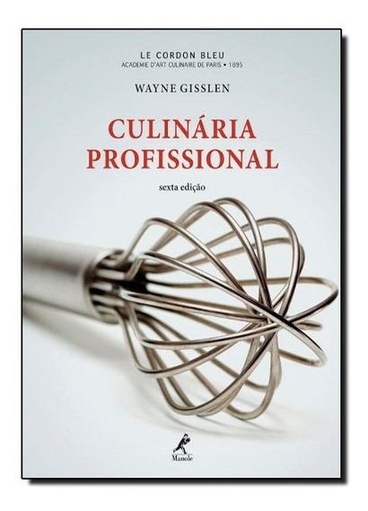Livro - Culinaria Profissional .