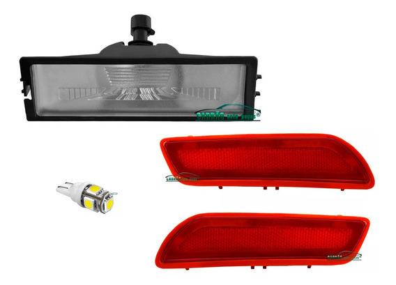 Lanterna De Placa + Refletor Parachoque Onix