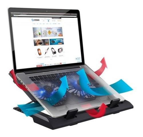 Imagen 1 de 4 de Base De Enfriamiento Para Laptop, Con Ventilación Ajustable
