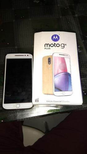 Celular Moto G4 Plus 32 Gb Dual Chip Edição Limitada Bambu