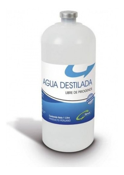 Agua Destilada Optima 1000 Ml Aquamed