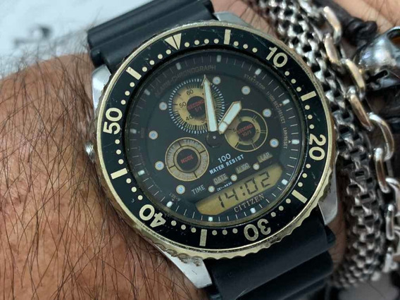 Citizen Combo Calibre 8946 Wr100m Japan