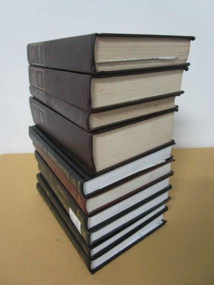 10 Livros - Melhores Autores - Capa Dura - Lote 09