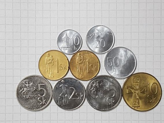 Eslovaquia Colección 8 Moneda